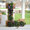 Outdoor Cedar Monogram Flower Planter